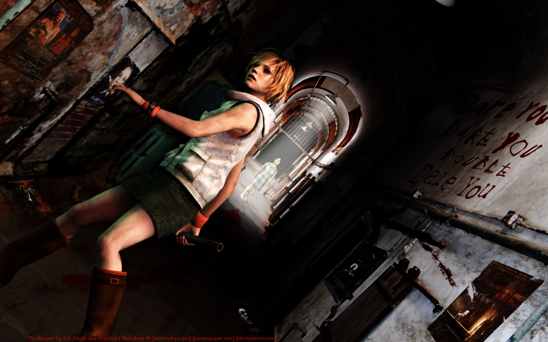 Silent Hill 3 Wallpaper: Heather's Nightmare Full HD Wallpaper And Background Image