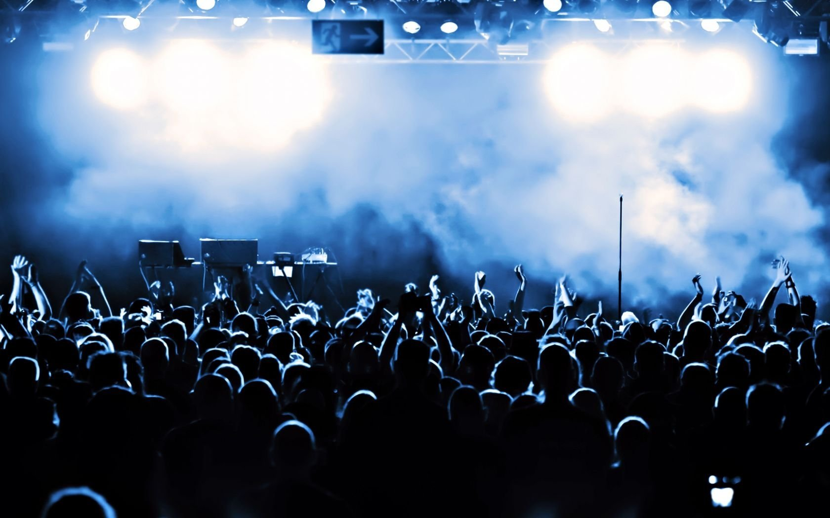 Concert wallpaper and background image 1680x1050 id 151409 - Concert crowd wallpaper ...