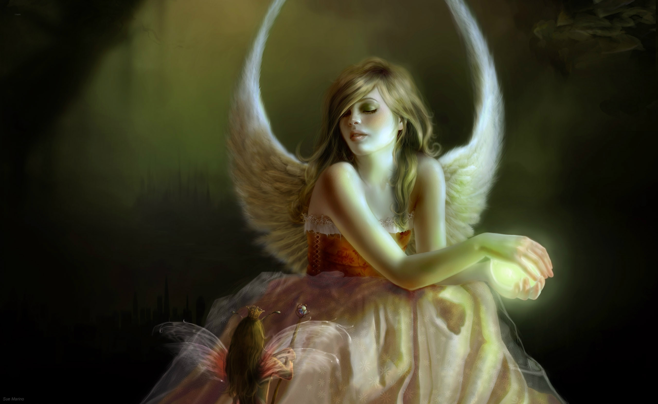 Fairy Full HD Wallpaper and Background Image | 2558x1572 ...