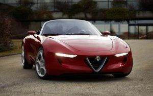 Preview Vehicles - Alfa Romeo 4C Art