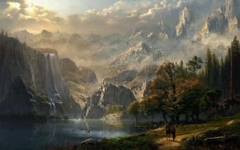 Fantasy - Landskap Wallpapers and Backgrounds ID : 152779