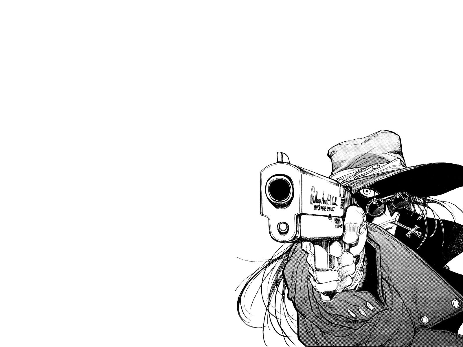 Hellsing wallpaper and background image 1600x1200 id - Anime hellsing wallpaper ...