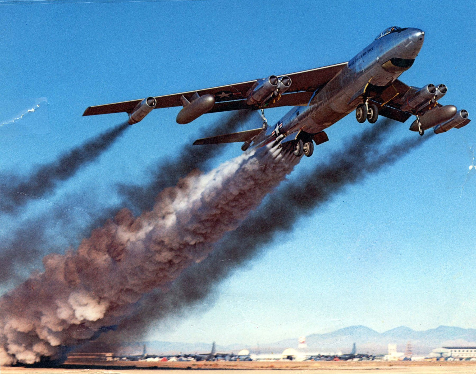 Military - Boeing B-47 Stratojet  Air Force Aircraft Airplane Military Wallpaper