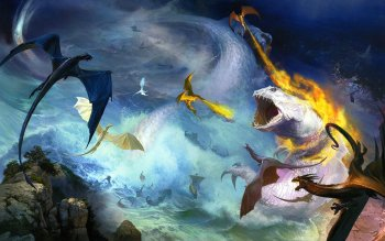 Fantasy - Drachen Wallpapers and Backgrounds ID : 153159