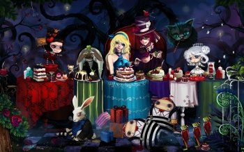 Anime - Alice In Wonderland Wallpapers and Backgrounds ID : 153969