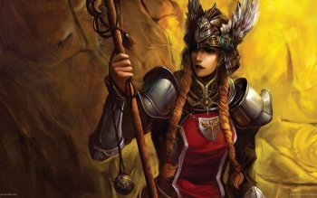 Fantasy - Women Warrior Wallpapers and Backgrounds ID : 154215