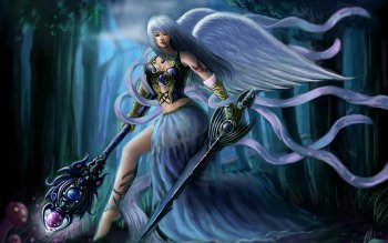 Fantasy - Angel Warrior Wallpapers and Backgrounds ID : 154407