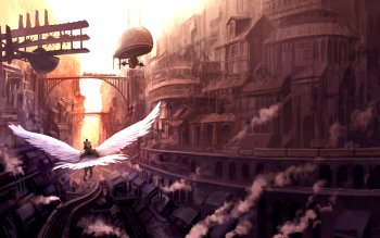 Sci Fi - Steampunk Wallpapers and Backgrounds ID : 155399