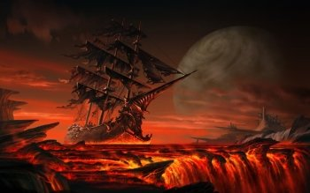 Fantasy - Schiff Wallpapers and Backgrounds ID : 156017