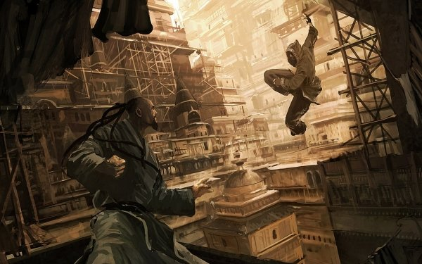 Fantasy Warrior Fight Asian Assassin HD Wallpaper | Background Image
