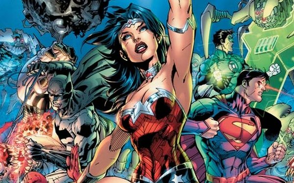 Comics DC Comics Batman Wonder Woman Green Lantern Superman The New 52 HD Wallpaper | Background Image