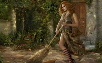 Fantasy - Women Wallpapers and Backgrounds ID : 157197