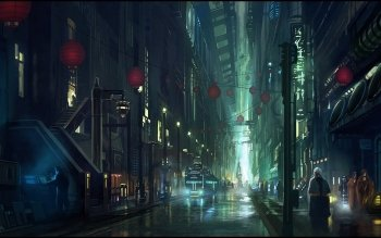 Science-Fiction - Großstadt Wallpapers and Backgrounds ID : 157265