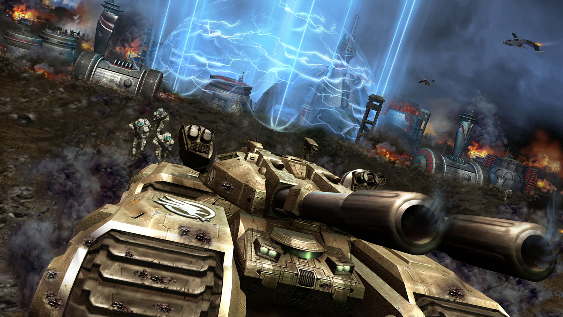 how to get command and conquer generals in wide screen