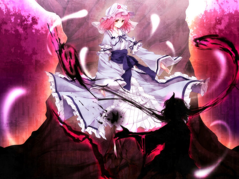 Anime - Touhou  Yuyuko Saigyouji Wallpaper