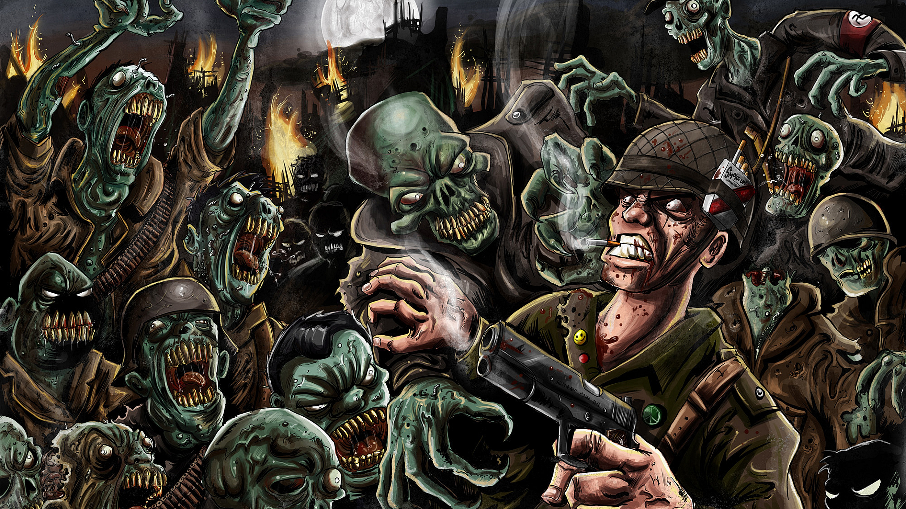 Hd wallpaper zombie - Hd Wallpaper Zombie 42