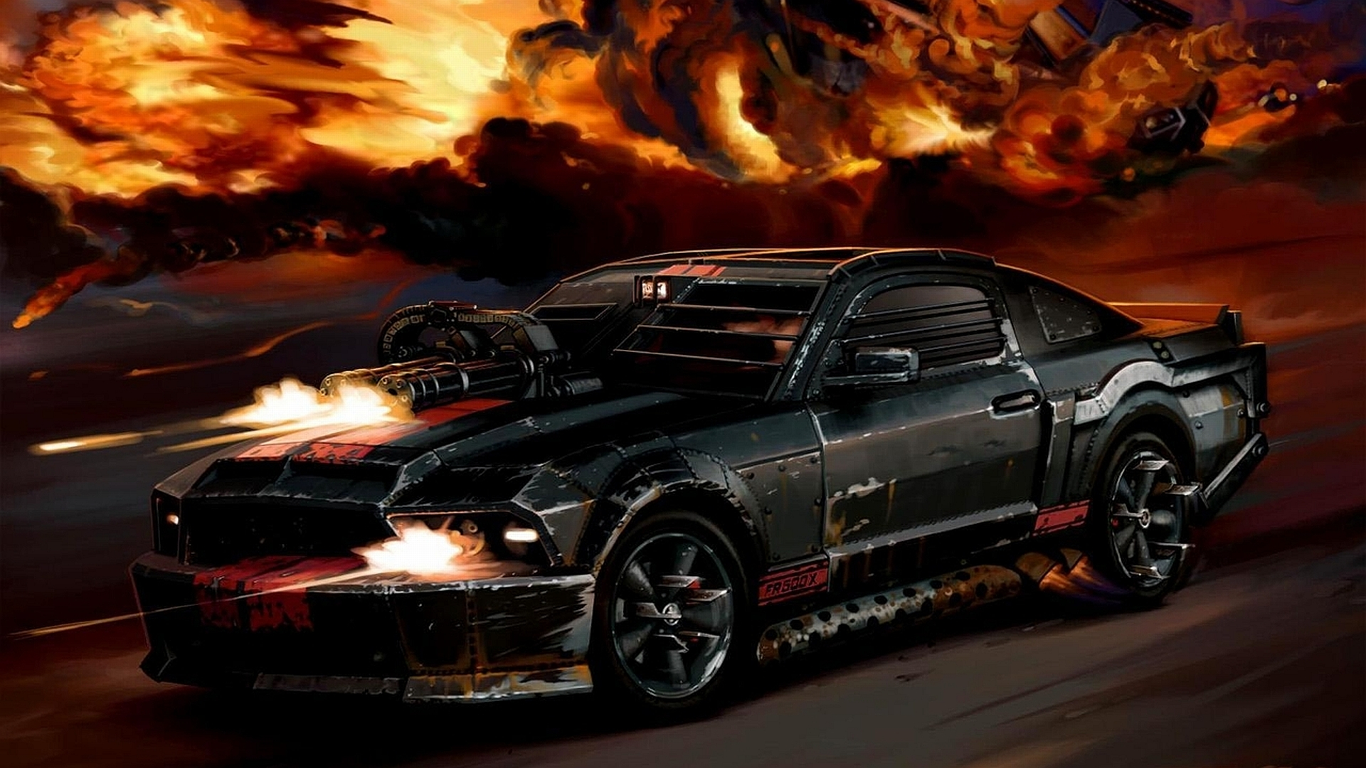 Death Race Car Racing Game