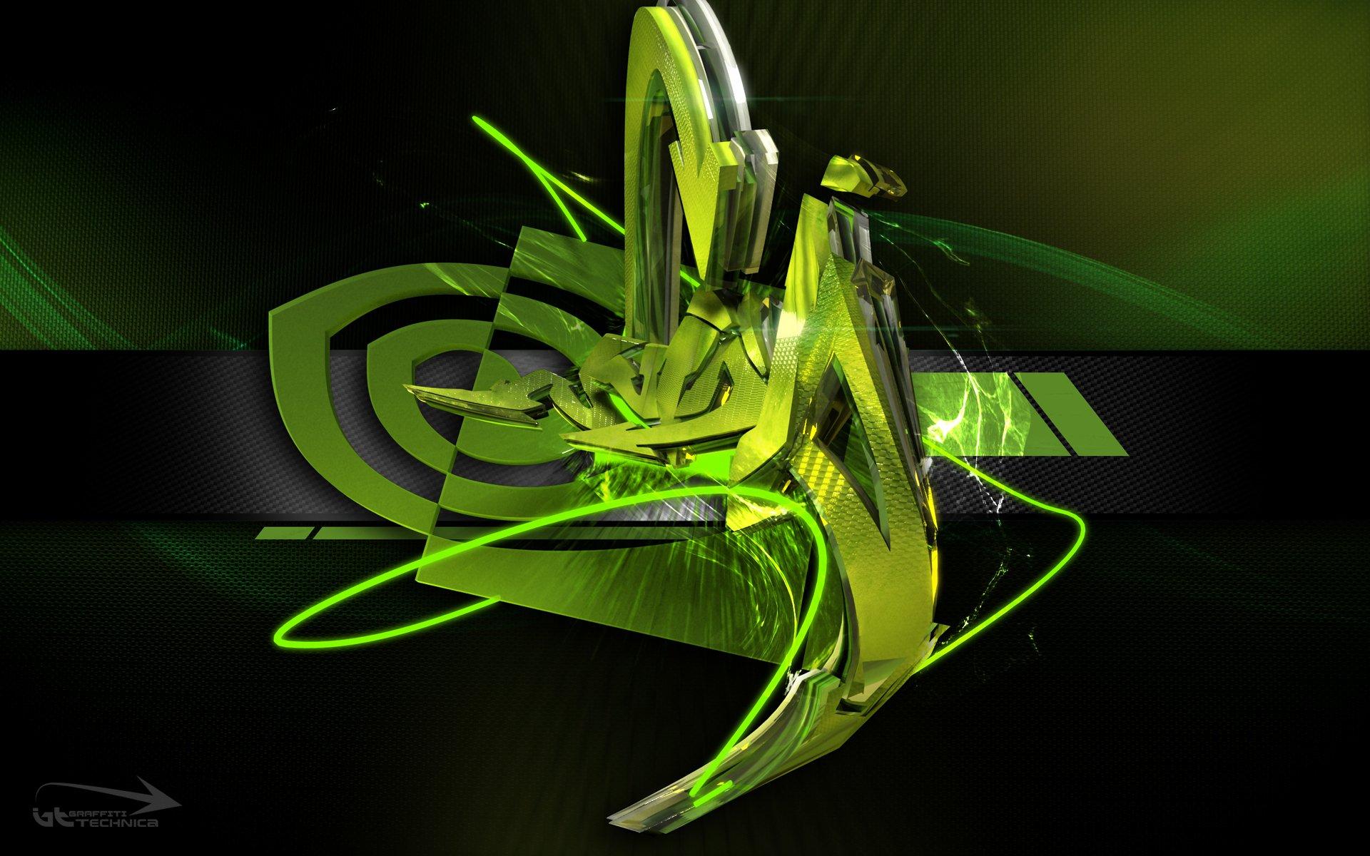 英伟达logo壁纸_Nvidia logo 高清壁纸 | 桌面背景 | 1920x1200 | ID:160325 - Wallpaper Abyss