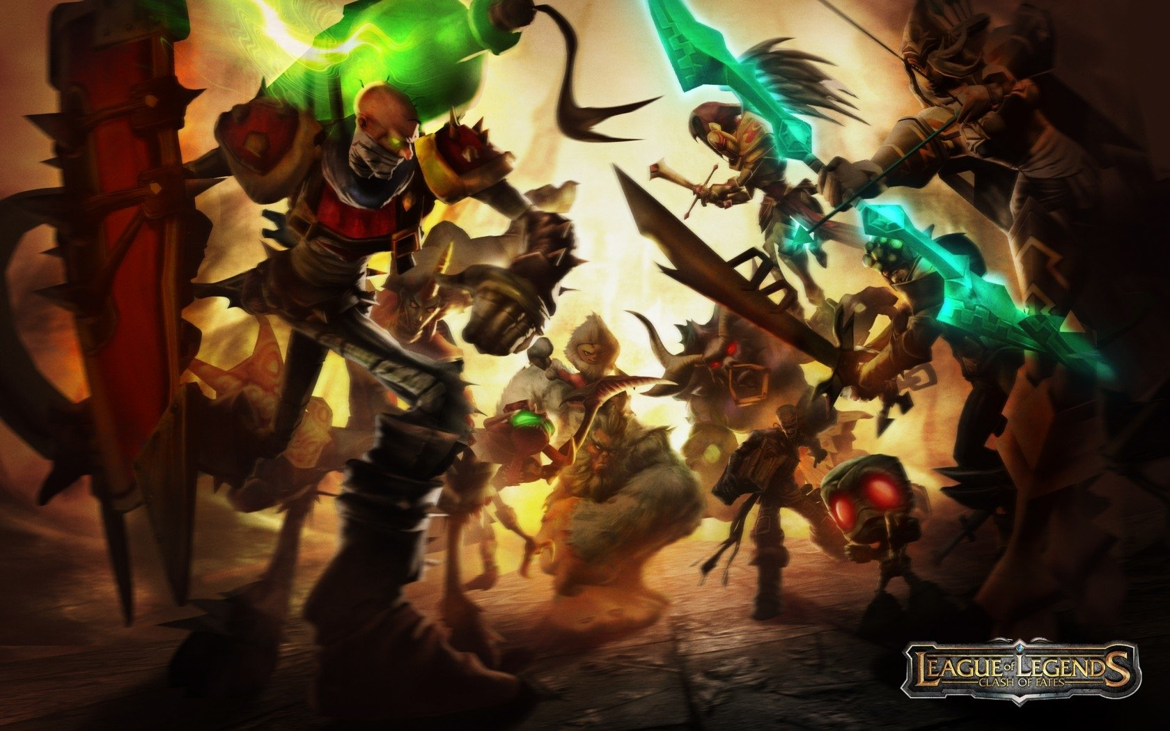 League of legends wallpaper pack - Hd Wallpaper Background Id 160345 1680x1050 Video Game League Of Legends