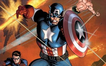 Comics - Captain America Wallpapers and Backgrounds ID : 160435
