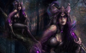 Fantasy - Witch Wallpapers and Backgrounds ID : 160877