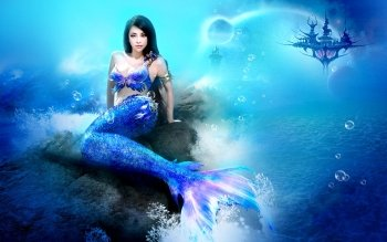 Fantasy - Mermaid Wallpapers and Backgrounds ID : 160879
