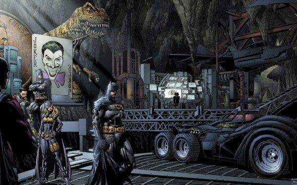 Comics Batman Batgirl HD Wallpaper | Background Image