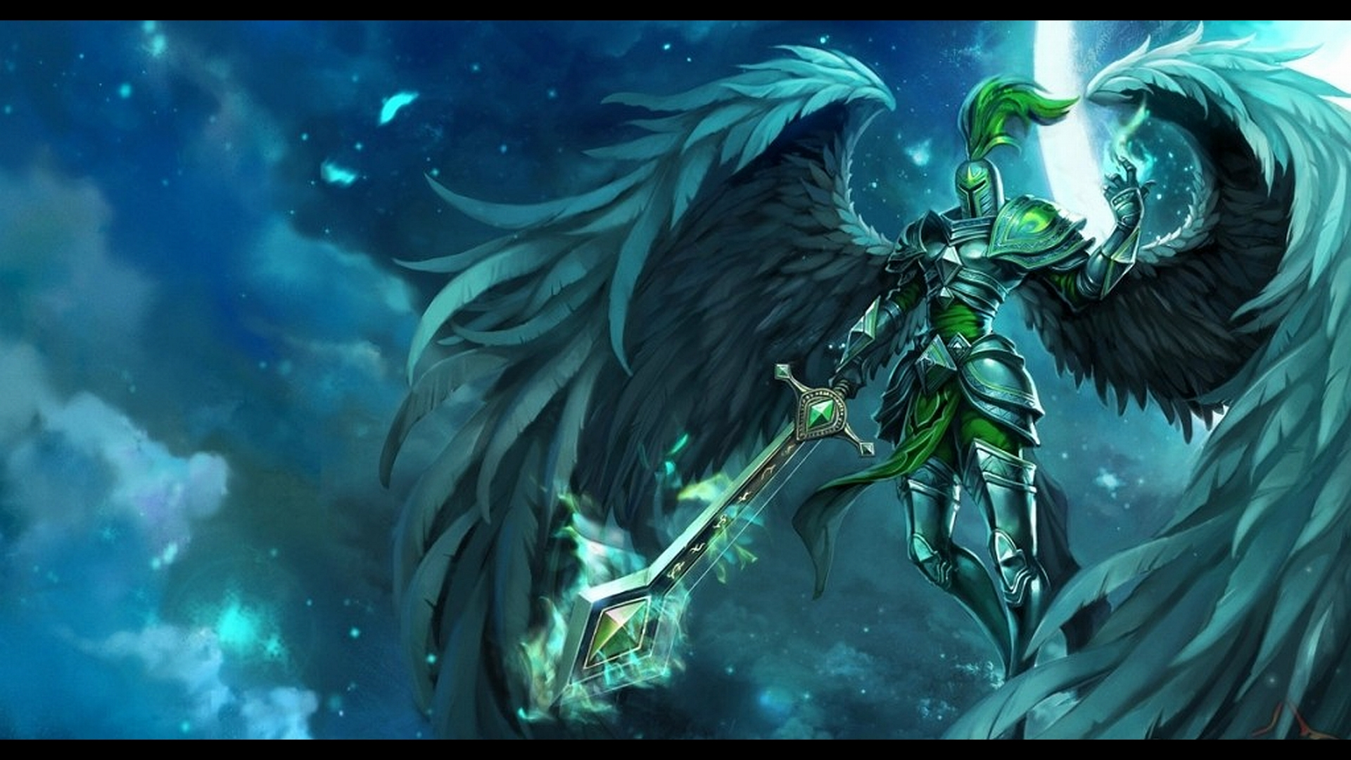 Dual Monitor Wallpaper League Of Legends: League Of Legends Full HD Wallpaper And Background