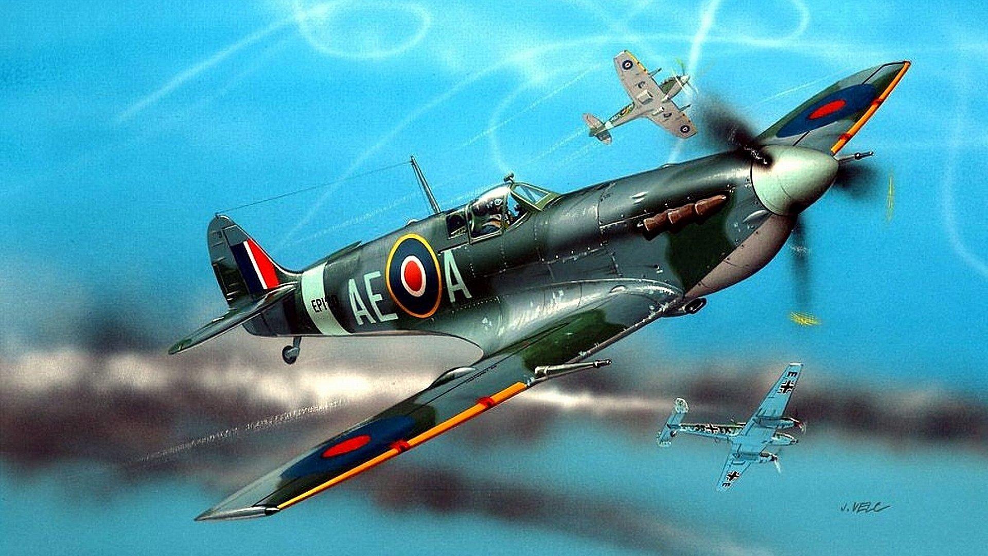 Spitfire Backgrounds
