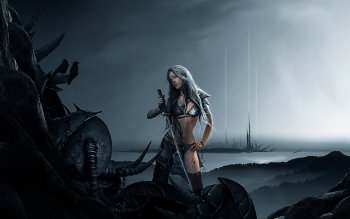 Fantasy - Women Warrior Wallpapers and Backgrounds ID : 161375