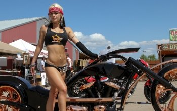 Fordon - Girls & Motorcycles  Wallpapers and Backgrounds ID : 161569