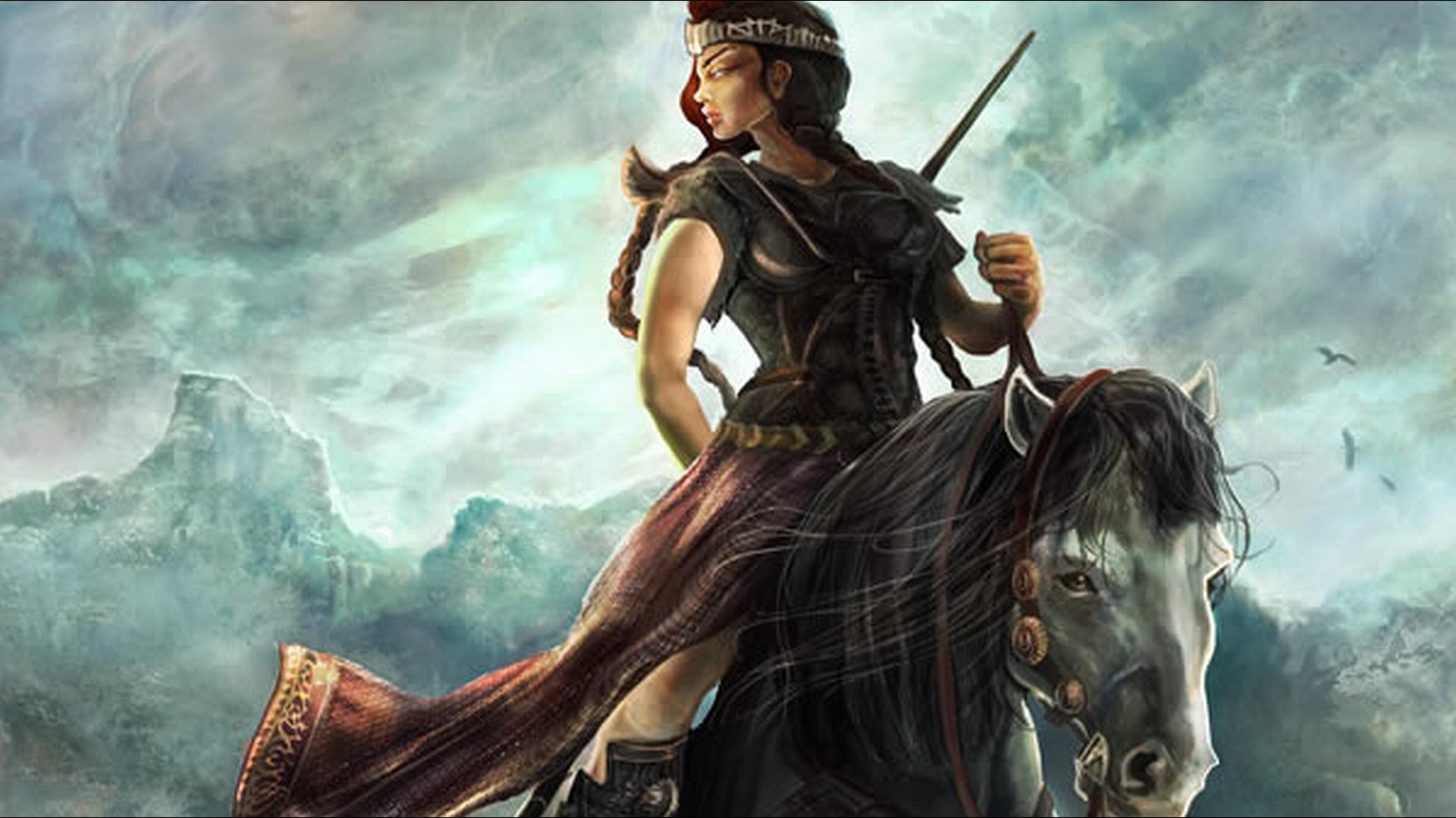 download wallpaper female warrior - photo #14
