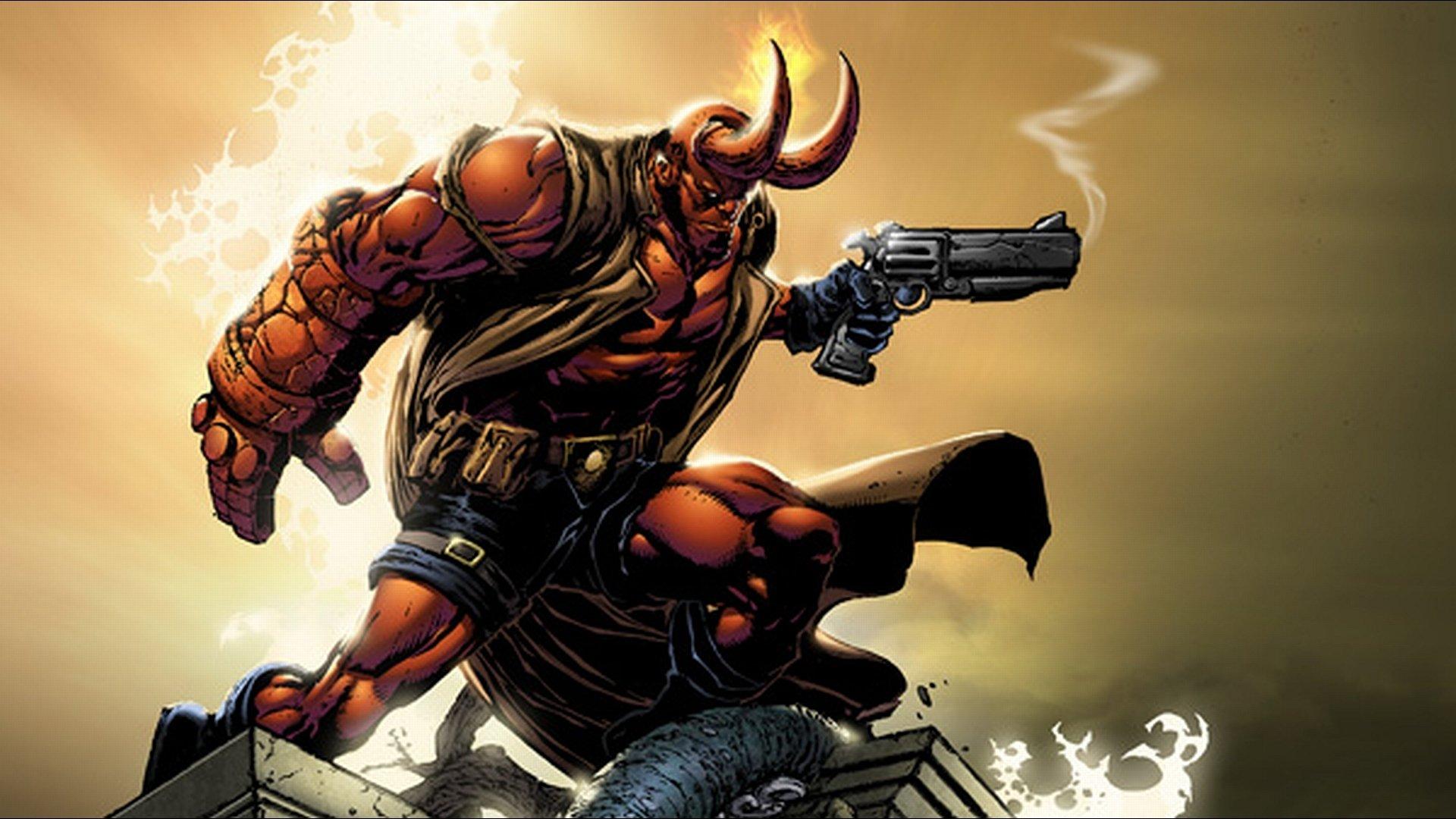 179 Hellboy Fonds D Ecran Hd Arriere Plans Wallpaper Abyss