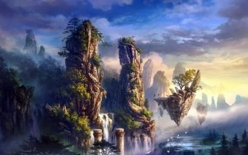 Fantasy - Landscape Wallpapers and Backgrounds ID : 162745