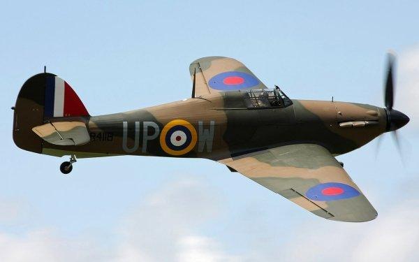 Military Hawker Hurricane Military Aircraft Aircraft HD Wallpaper | Background Image