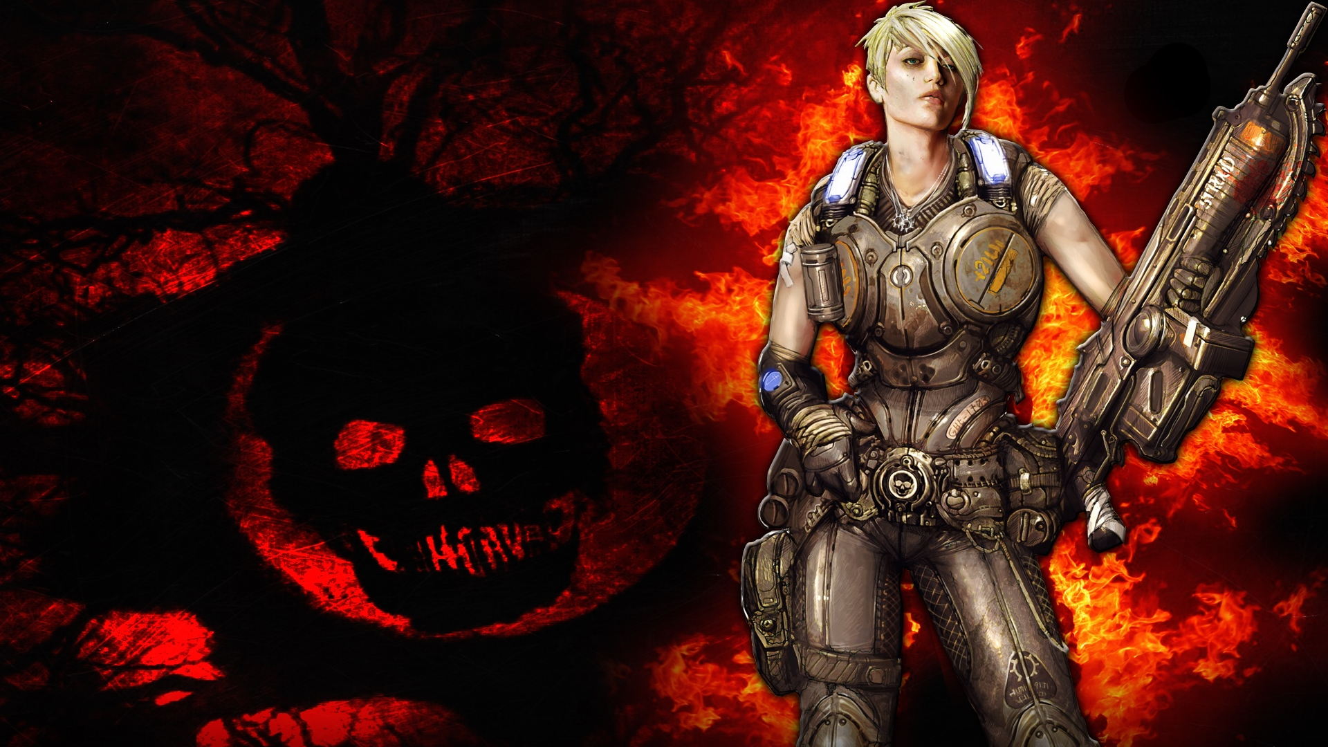 Gears Of Wars 3 Wallpaper: Gears Of War 3 Full HD Wallpaper And Background Image