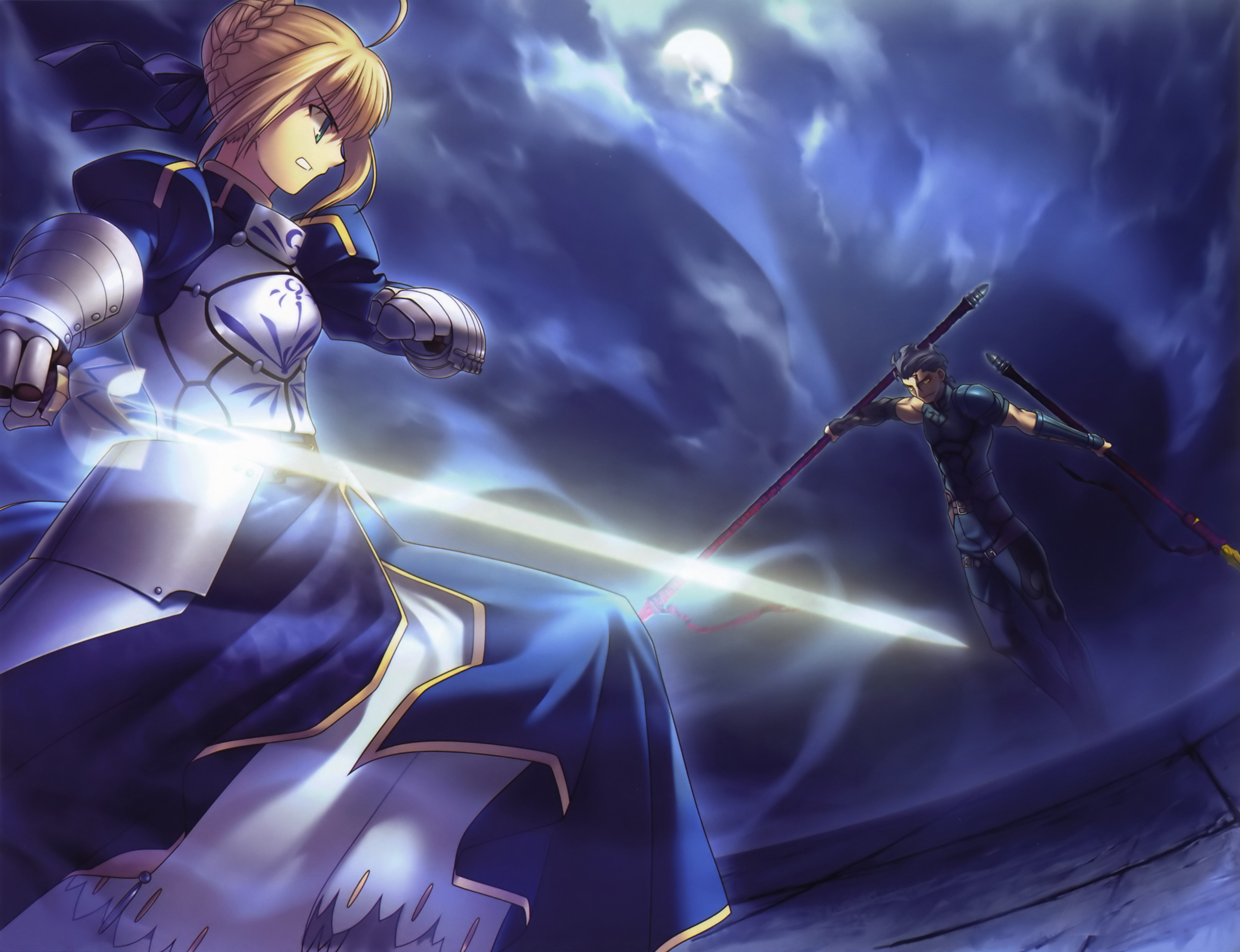 anime blue saber ndash - photo #18