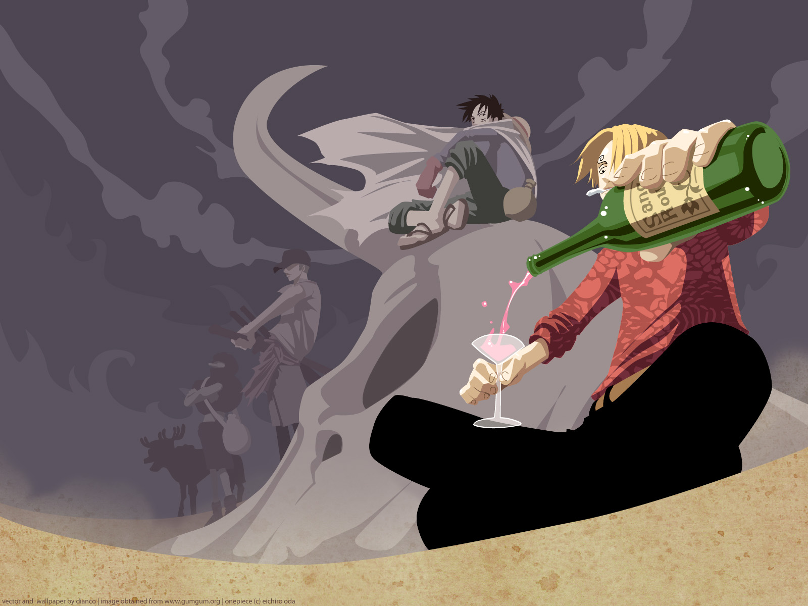 One Piece Wallpaper And Background Image 1600x1200 Id 164897 Wallpaper Abyss