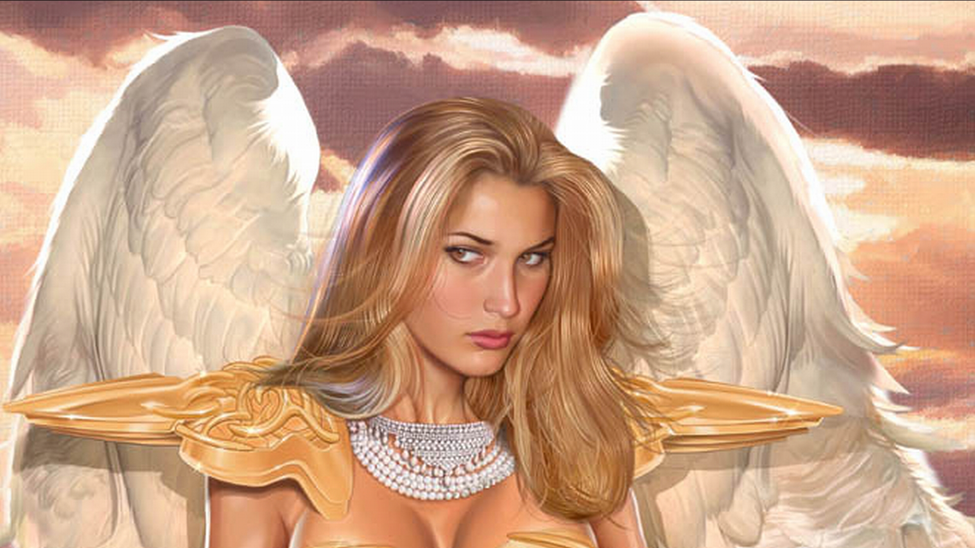 Angel Full Hd Wallpaper And Background Image 1920x1080