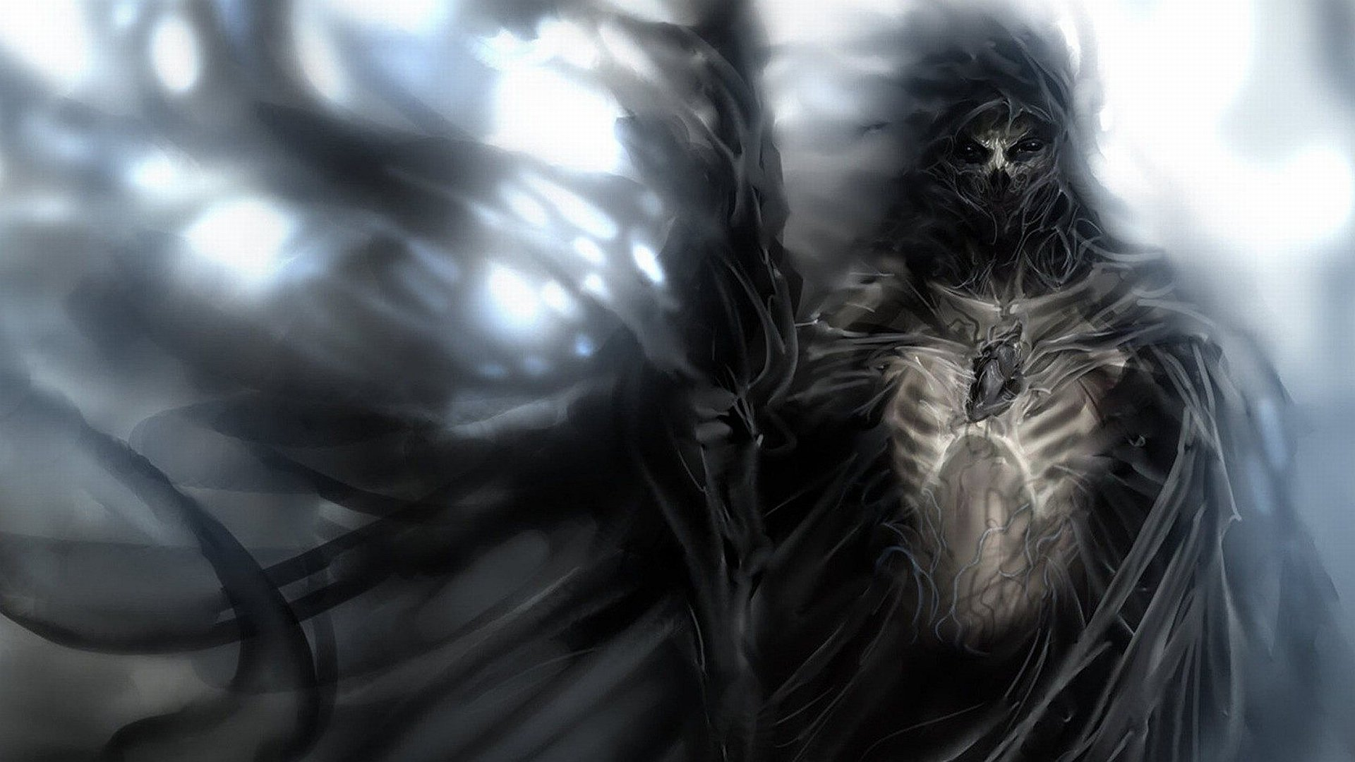 Fantasy - Dark  Death Grim Reaper Wallpaper