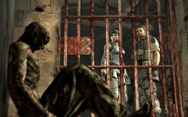 Video Game Resident Evil 5 Resident Evil Jill Valentine Chris Redfield HD Wallpaper | Background Image
