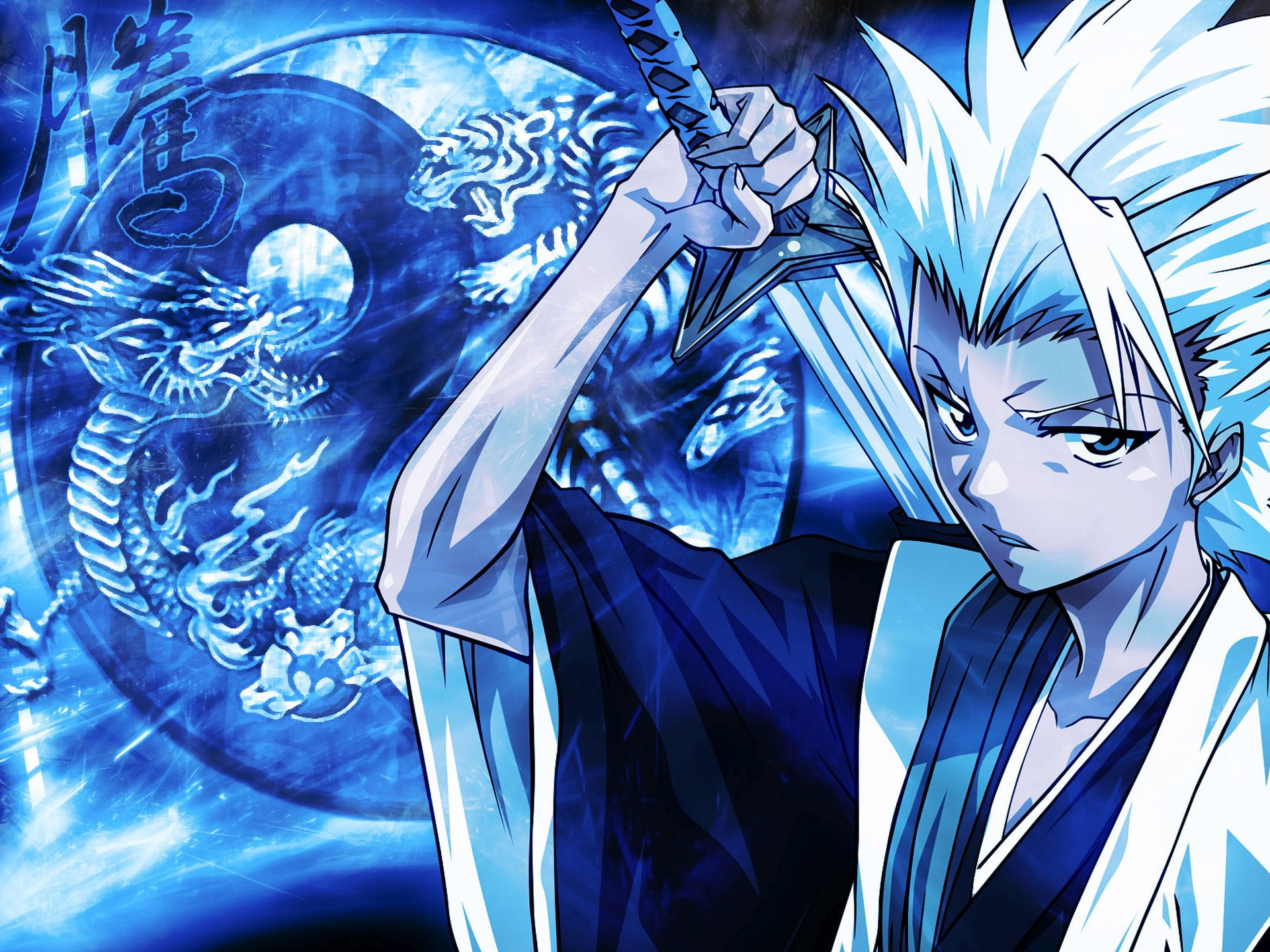 Anime - Bleach  Tōshirō Hitsugaya Anime Wallpaper