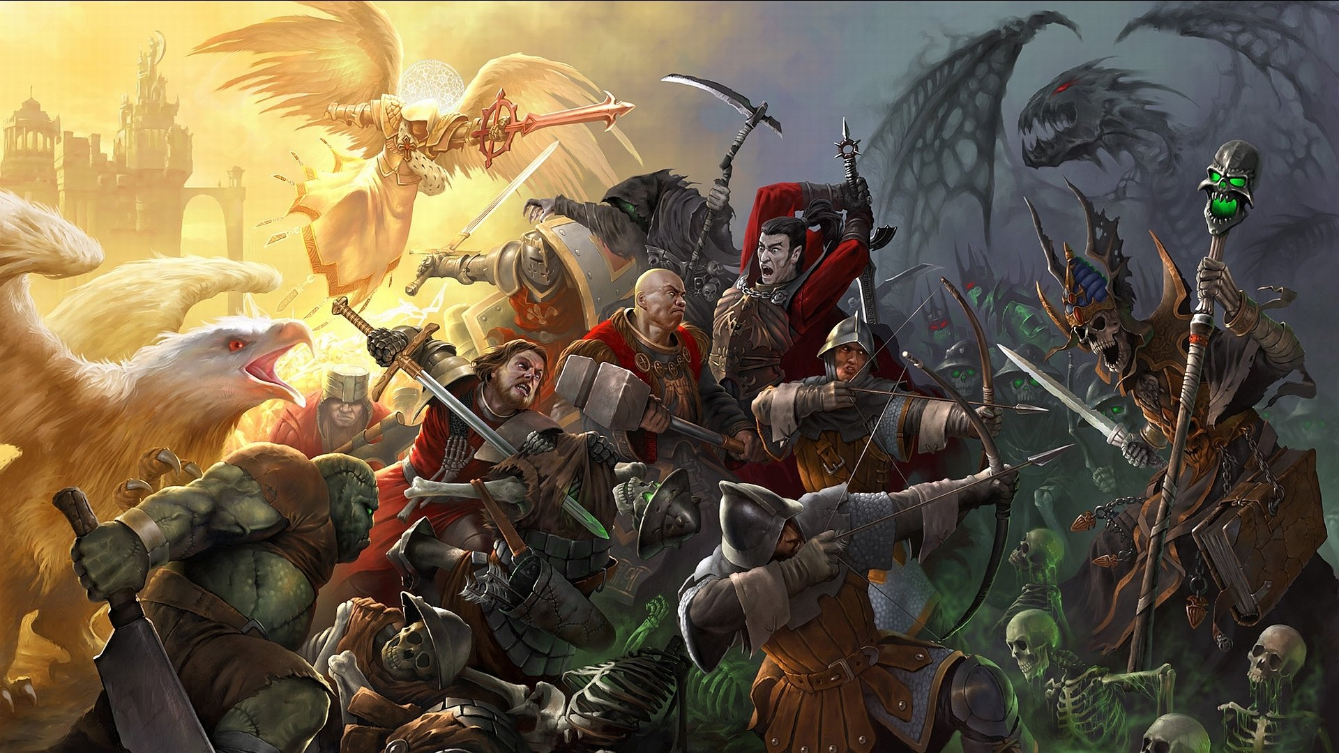 Heroes Of Might And Magic V Fond Décran Hd Arrière Plan
