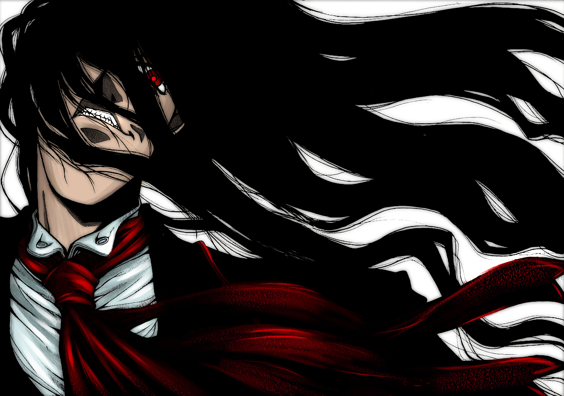 Anime - Hellsing  Alucard (Hellsing) Wallpaper