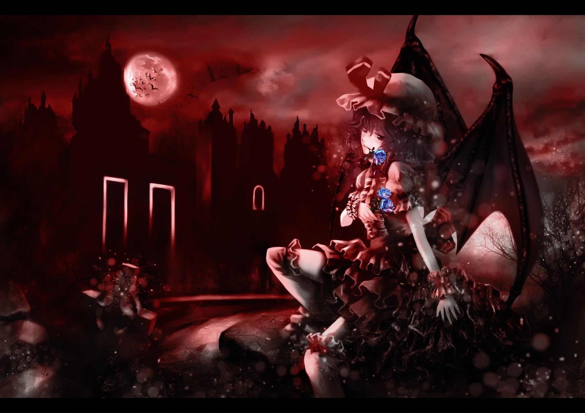 Anime - Touhou  Remilia Scarlet Wallpaper