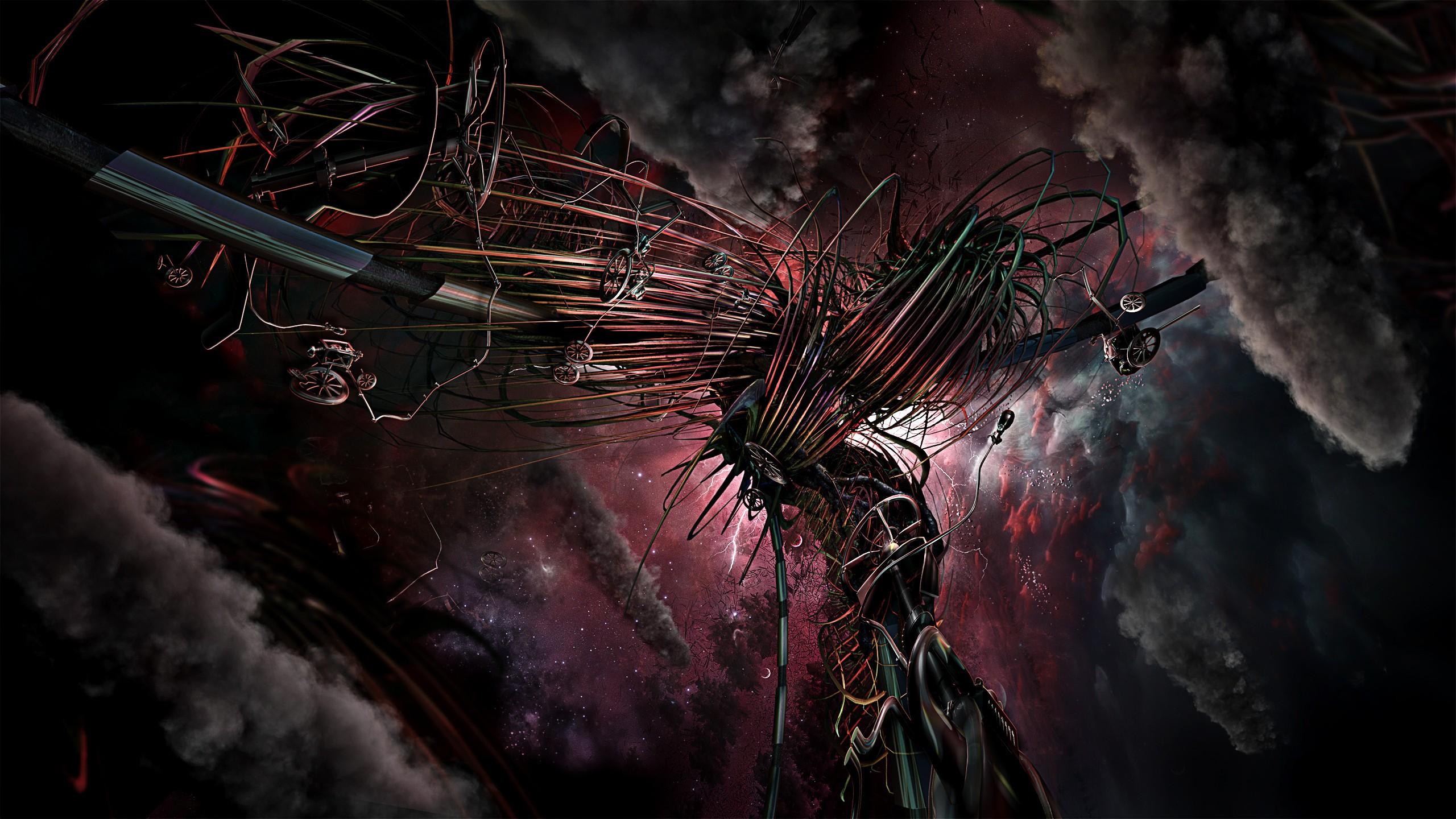 Science Fiction - Artistisk  Bakgrund