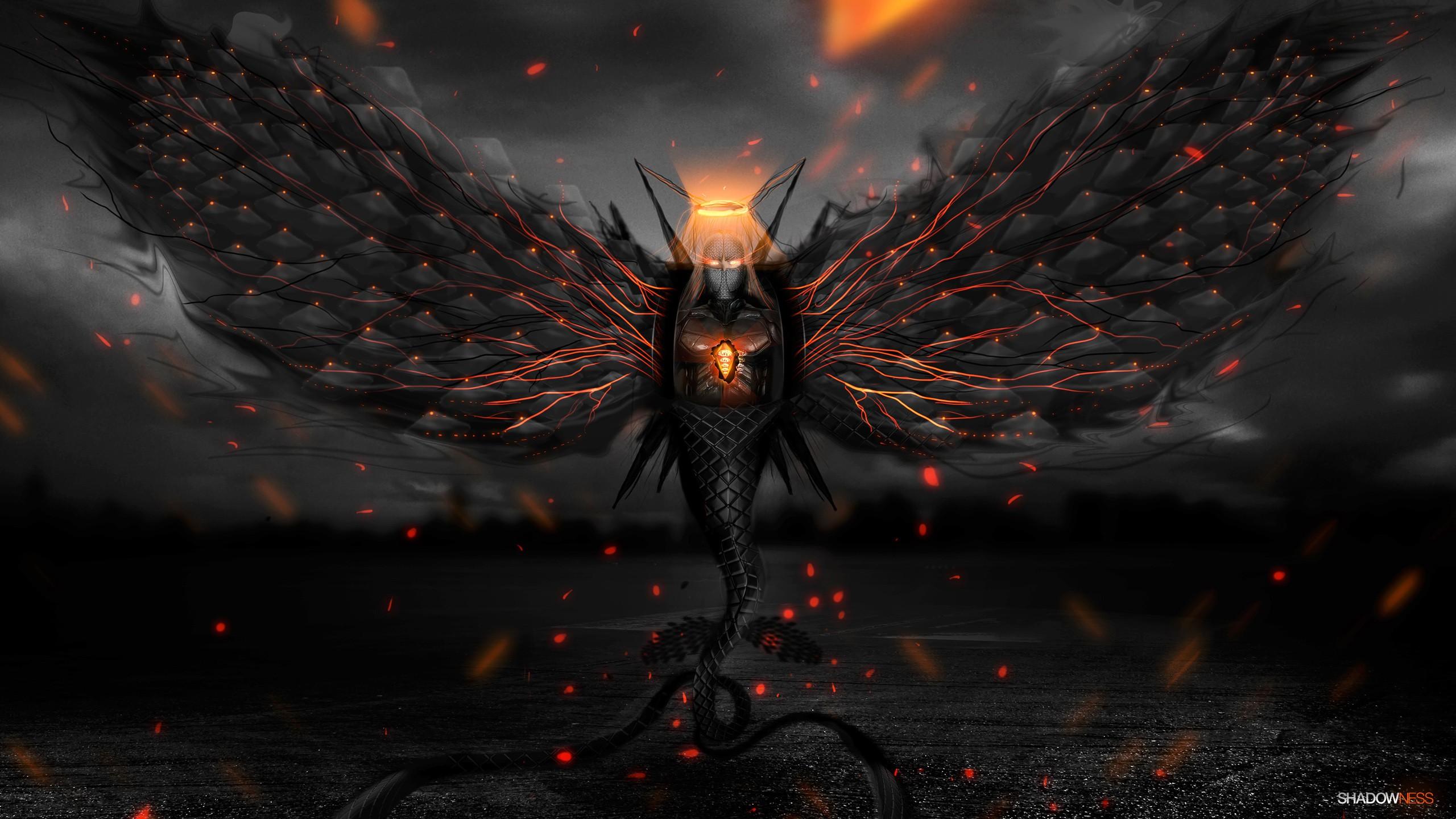 Demon hd wallpaper background image 2560x1440 id - Demon wallpaper 4k ...