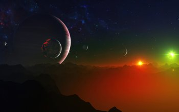 Sci Fi - Landscape Wallpapers and Backgrounds ID : 171795