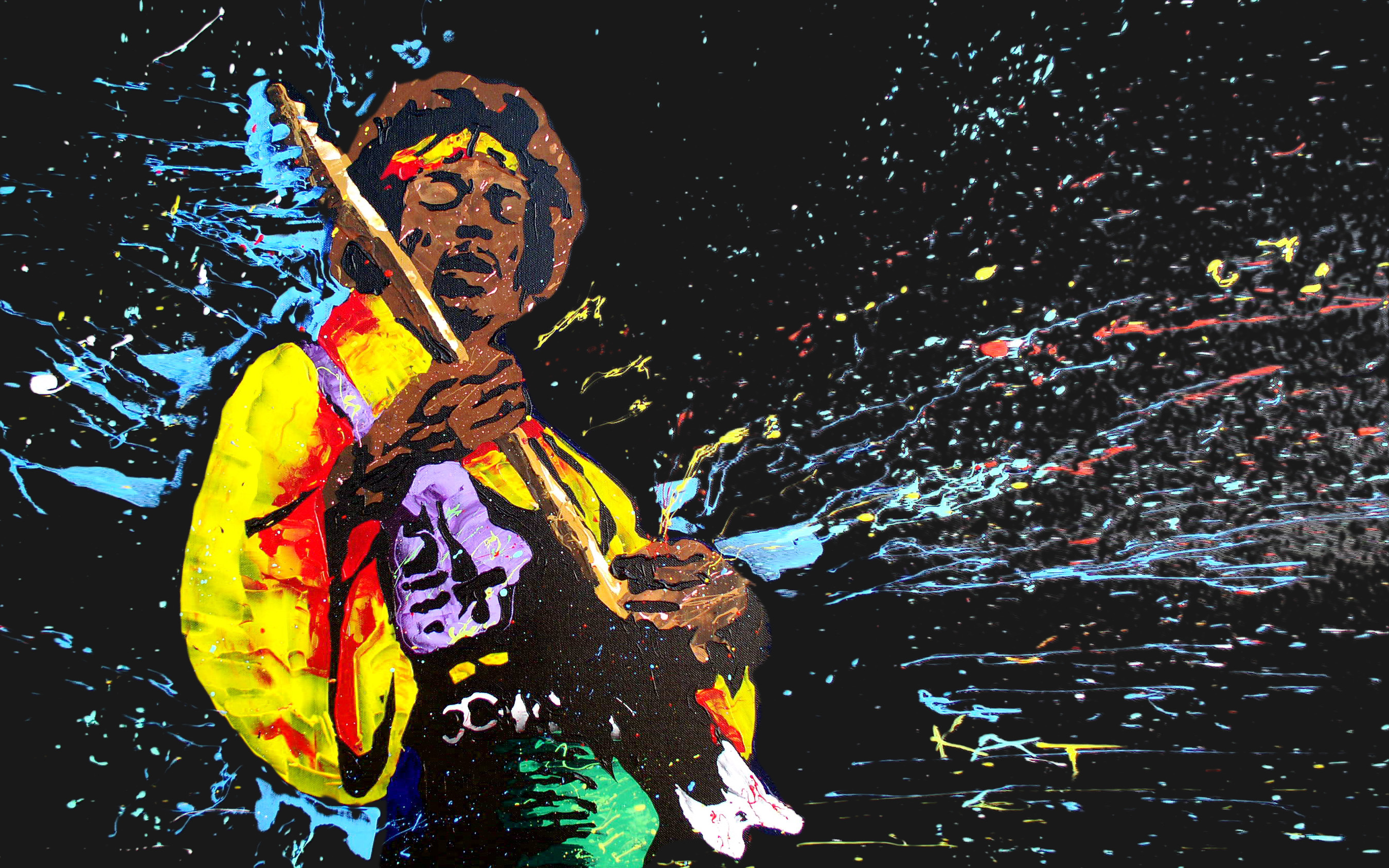 Pop Art Wallpapers 60 Images: Jimi Hendrix Full HD Wallpaper And Background Image