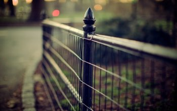 Man Made - Fence Wallpapers and Backgrounds ID : 172725